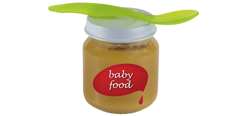 Bought baby food