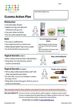 Thumbnail eczema care plan