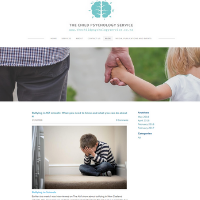 Child Psychology Services website