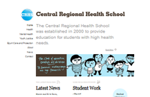Central Regional Health School website
